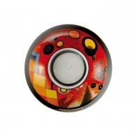 Świecznik - tealight 11 cm - Heavy Red - Wassily Kandinsky Goebel 67100191