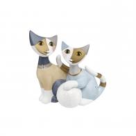 Para kotów ze śniezką 8,5 cm Rosina Wachtmeister