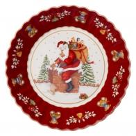 Miska ze Św. Mikołajem na dachu 25 cm - Toy's Fantasy Villeroy & Boch 14-8332-3657