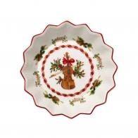 Miska świąteczne skrzypce 17 cm - Toy's Fantasy Villeroy & Boch 14-8332-3683