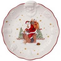 Miska z reliefem św. Mikołaja 24 x 25 x 4,6 cm - Toy's Fantasy Villeroy & Boch 14-8332-2554