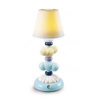 Lampa stołowa Cactus Firefly żółto-niebieska 30 cm - Lladro