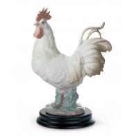 Figurka Kogut 22 cm biały - Lladro