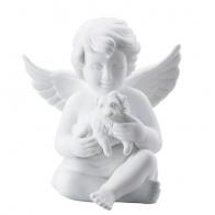 Figurka Anioł z psem, duży 15 cm 69056-000102-90522