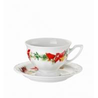 Filiżanka do kawy 180 ml - Maria Poinsecja Rosenthal 10430-407166-14742 D