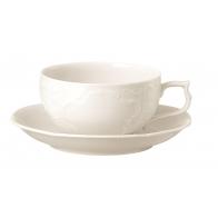 Filiżanka do herbaty ze spodkiem - Sanssouci Ivory