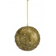 Ozdoba świąteczna bombka 10 cm - Glamour! - Palais Royal