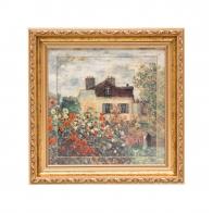 Obraz Dom Artysty 31 x 31 cm Claude Monet