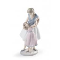 Figurka Matki z Córką - Chcę być taka jak ty - 34 cm