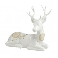 Figurka Jeleń leżący 18,5 x 18 cm - Mandala Goebel 37005061