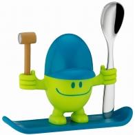 Kieliszek do jajek McEgg zielony z łyżeczką - WMF