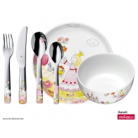 Sztućce i naczynia dziecięce 6 elementy Księżniczka Anneli - WMF