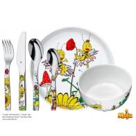 Sztućce i naczynia dziecięce 6 elementy Pszczółka Maja - WMF
