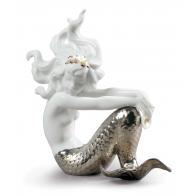 Figurka - Iluzja/Illusion Mermaid. Srebrna 01007028 Lladro