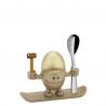 Kieliszek do jajek McEgg złoty z łyżeczką - WMF