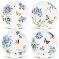 Zestaw 4 talerzy Blue - Butterfly Meadow Leonx sklep