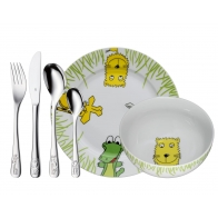 Sztućce i naczynia dziecięce 6 elementy Safari - WMF 1280029964