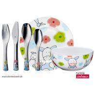 Sztućce i naczynia dziecięce 6 elementy Farmily - WMF 1294459964