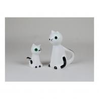 Figurka Kot MruMru biały mały - Adam Spała