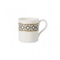 Filiżanka do kawy 210 ml biało-czarno-złota - MetroChic Villeroy & Boch 10-4652-1300