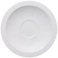Spodek do filiżanki do cappuccino 18 cm- White Pearl Villeroy & Boch 10-4389-1250