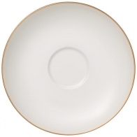 Spodek do filiżanki do kawy 15 cm - Anmut Gold Villeroy & Boch 10-4653-1310