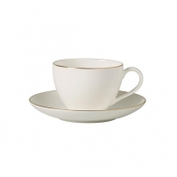 Filiżanka do kawy ze spodkiem 200 ml - Anmut Gold Villeroy & Boch 10-4653-1290