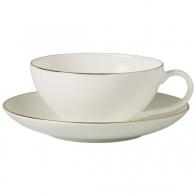 Filiżanka do herbaty ze spodkiem 200 ml - Anmut Gold Villeroy & Boch 10-4653-1260