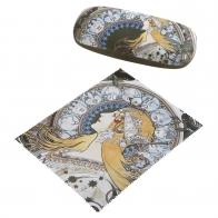 Etui na okulary Zodiak 16 x 4,5 cm - Alphonse Mucha Goebel