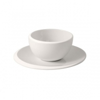 Filiżanka do kawy bez ucha ze spodkiem - NewMoon