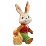 Figurka Królik - Wielkanocna niespodzianka 24,5 cm