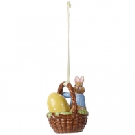 Ozdoba Max w koszyku 6 cm - Bunny Tales