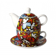 Tea For One - All We Need is Love 15 cm / 0,35 l - Romero Britto Goebel 66452701