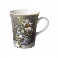 Kubek Wiosenne Kwiaty 11 cm - Auguste Renoir