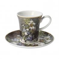 Filiżanka do espresso 7,5 cm Wiosenne Kwiaty - Auguste Renoir Goebel 67-011-83-1