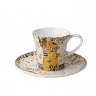 Filiżanka do kawy 8,5 cm Spełnienie - Gustav Klimt Goebel 67014021