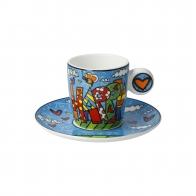 Filiżanka do espresso Happy 7 cm - Romero Britto 66452691 Goebel