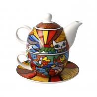 Tea For One Britto Garden 15 cm - Romero Britto Goebel 66452711