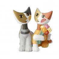 Koty Bukiet kwiatów 9,5 cm - Rosina Wachtmeister Goebel 31-358-02-1