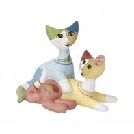 Figurka koty Cara i Elio 8 cm - Rosina Wachtmeister Goebel 31238021
