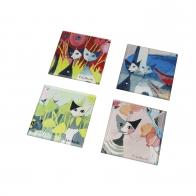 Podkładki 10 cm Colori del paradiso - Rosina Goebel 66852811Wachtmeister