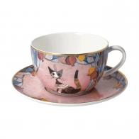 Filiżanka do herbaty 8,5 cm Melograni in festa - Koty Rosina Wachtmeister Goebel 66860511