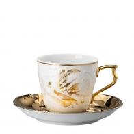 Filiżanka do kawy ze spodkiem - Sanssouci Midas Rosenthal 20480-408684-14742
