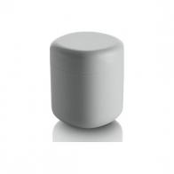 Pojemnik na patyczki kosmetyczne Birillo biały 11 cm - Alessi PL09 W