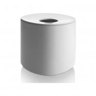 Pojemnik na chusteczki higieniczne Birillo biały 15 cm - Alessi PL15b