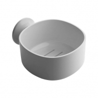 Półka łazienkowa Birillo biały 15 cm - Alessi PL16b