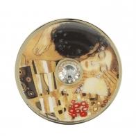 Broszka Pocałunek 5 cm - Gustav Klimt