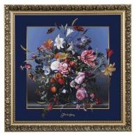 Obraz Letnie kwiaty 68 x 68 cm - Jan Davidsz de Heem