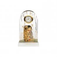 Zegar na biurko Pocałunek 11 cm- Gustav Klimt Goebel 66522511