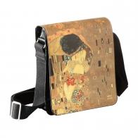 Torba na ramię Pocałunek 25 x 20 cm - Gustav Klimt 67061171 Goebel